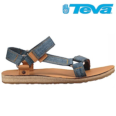TEVA Original Universal Denim 男休閒涼鞋