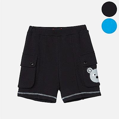 WHY AND 1/2 普普熊棉質萊卡短褲 5Y~10Y 多色可選