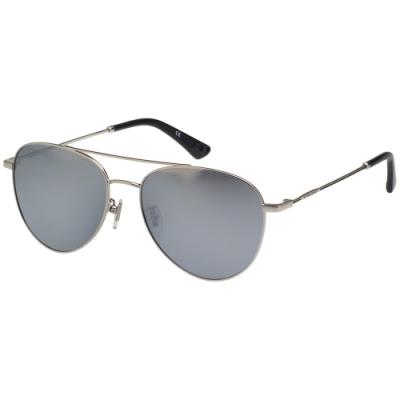 POLICE- 偏光片 水銀面 太陽眼鏡 (銀色)PE-981I