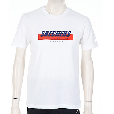 SKECHERS 男短袖衣 - SMLC219M025-019