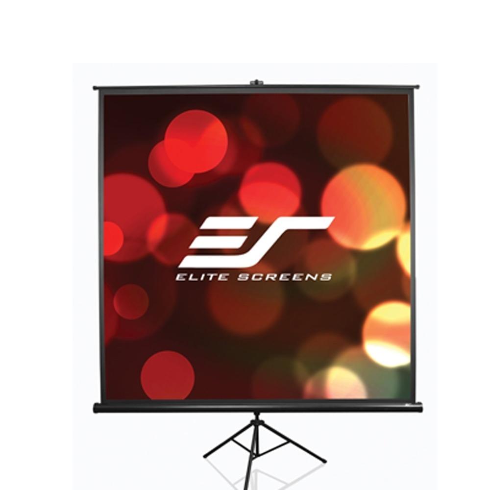 Elite Screens億立銀幕87吋1:1三腳支架布幕T99UWS1