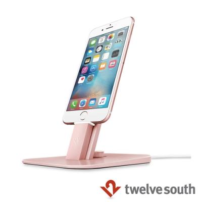 Twelve South HiRise Deluxe iPhone 充電立架 - 玫瑰金
