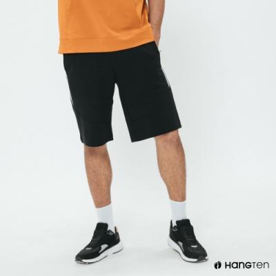 Hang Ten - 男裝 - 雙色休閒棉質短褲 - 黑
