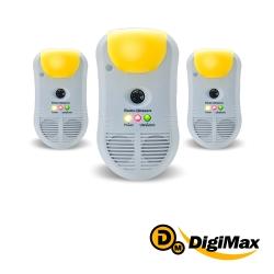DigiMax  強效型三合一超音波驅鼠器  3入組  UP-11T