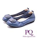 PQ典雅舒適娃娃鞋 女鞋 - 藍(另有灰)