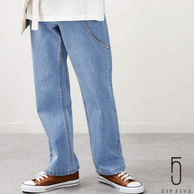 ZIP日本男裝 UNCORD 老爹牛仔褲直筒褲 落色加工 (6色)