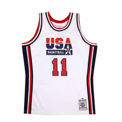 M&N Authentic球員版復古球衣 92 Dream Team #11 Karl Malone