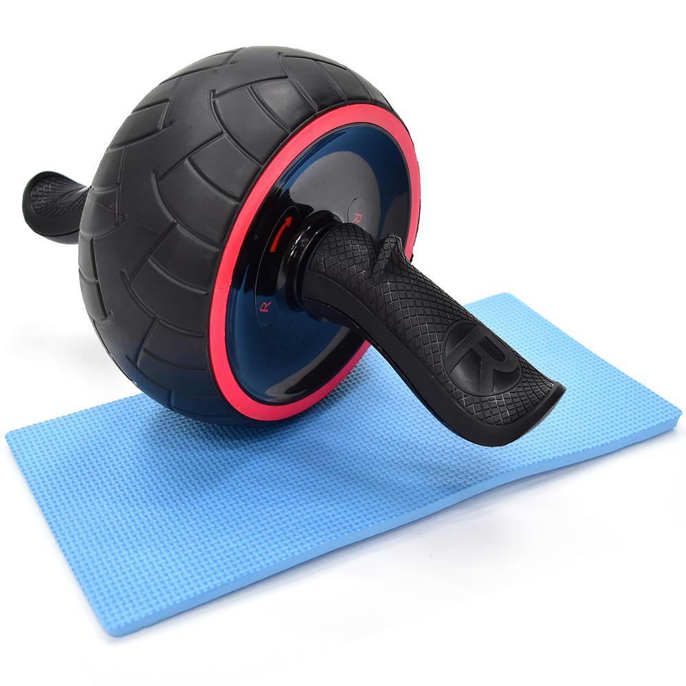 新一代迴力健美輪(贈送跪墊)緊腹輪 健腹輪