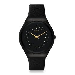 Swatch 超薄金屬手錶 SKIN SHADOW-38mm