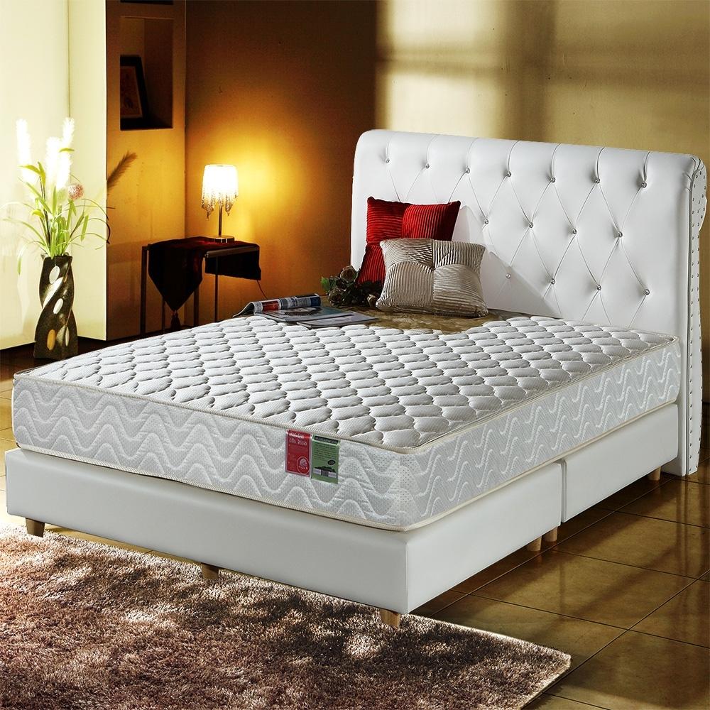 單人3.5尺-飯店級加厚款3M抗菌防潑水-蜂巢獨立筒床墊-正反可睡Ally (Ally)
