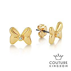 Disney Jewellery by Couture Kingdom 米妮蝴蝶結水晶耳釘