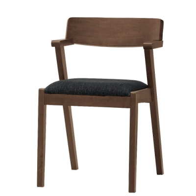 MUNA 卡文餐椅(布)(實木) (1入)  58X55X82cm
