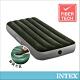 INTEX 經典單人充氣床(fiber-tech)-內建腳踏幫浦-寬76cm(64760) product thumbnail 1