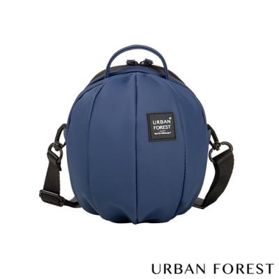 URBAN FOREST都市之森 甲蟲-Skin Touch膚感系列迷你斜背包/斜肩包 深海藍