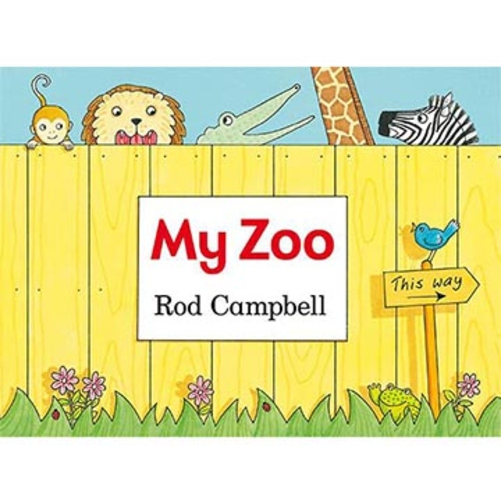 My Zoo 我的動物園硬頁造型書