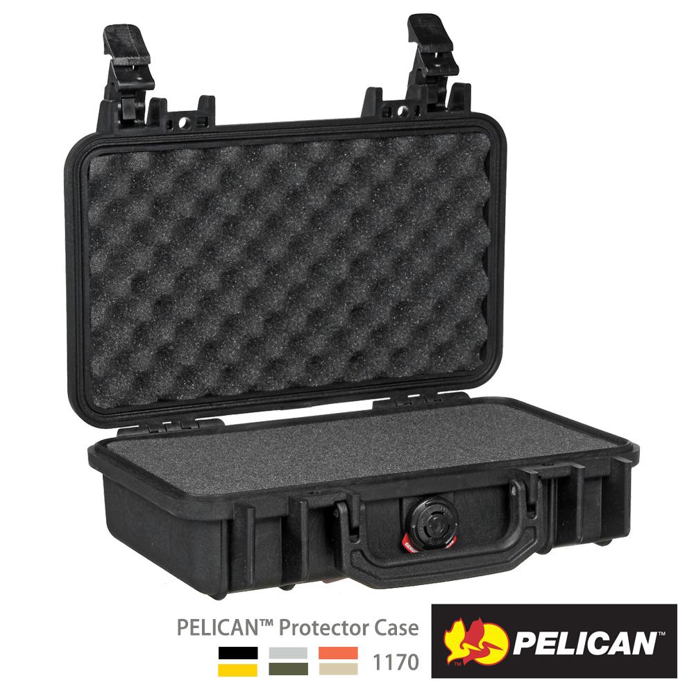 美國 PELICAN 1170 氣密箱-含泡棉(黑)