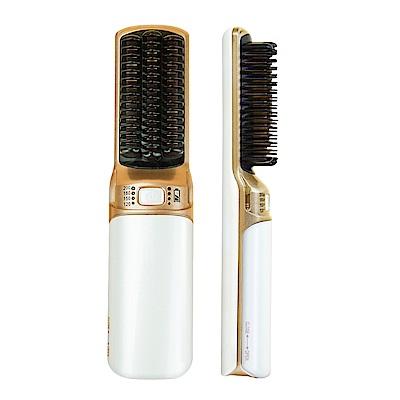 ANQUEEN 溫控魔髮造型梳 -QA-N17 無線款