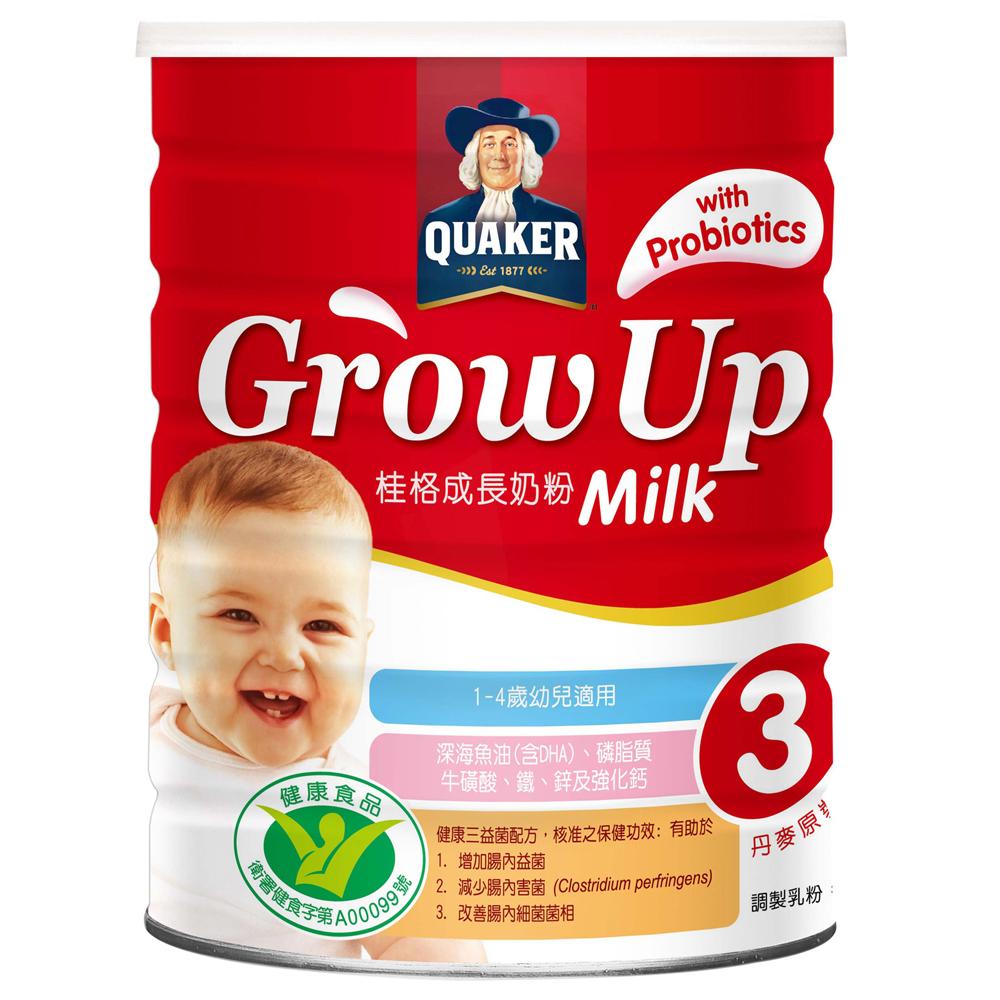 桂格 三益菌成長奶粉 1500gx4罐