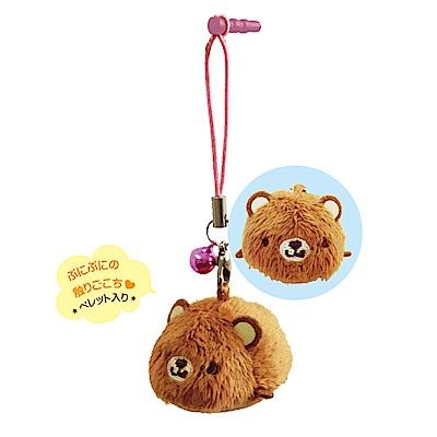 動物樂園掌心沙包公仔螢幕擦。小棕熊UNIQUE