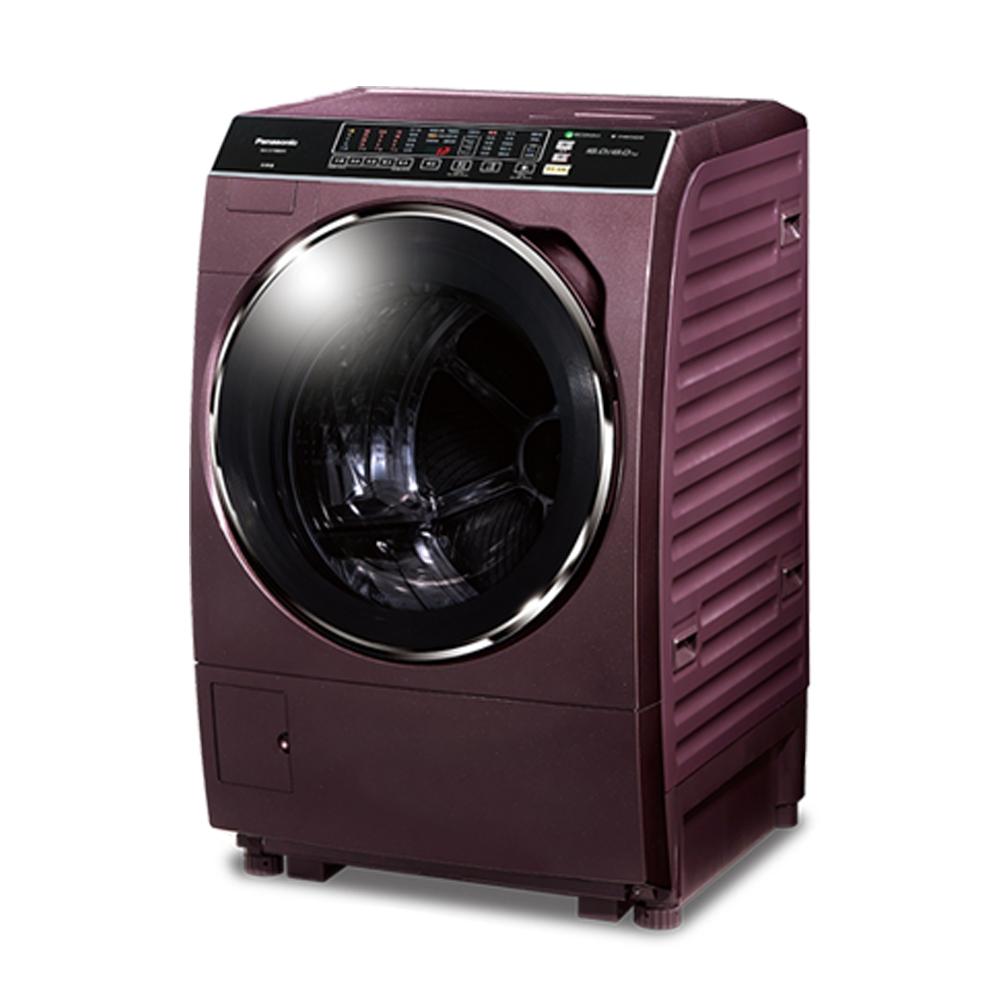 [無卡分期12期]Panasonic國際牌 洗脫烘滾筒洗衣機 NA-V168DDH 晶燦紫