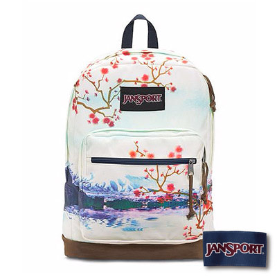 JanSport -RIGHT PACK EXPRESSIONS系列後背包 -櫻花