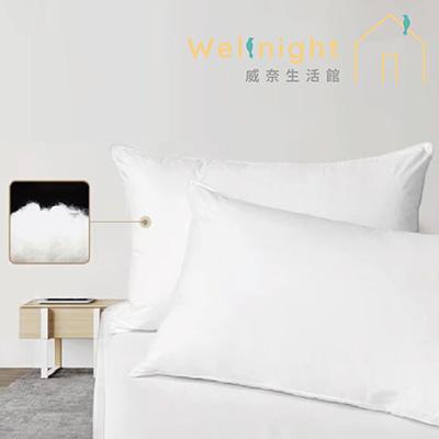 Wellnight 威奈 德國羽絲絨五星飯店枕<b>2</b>入組