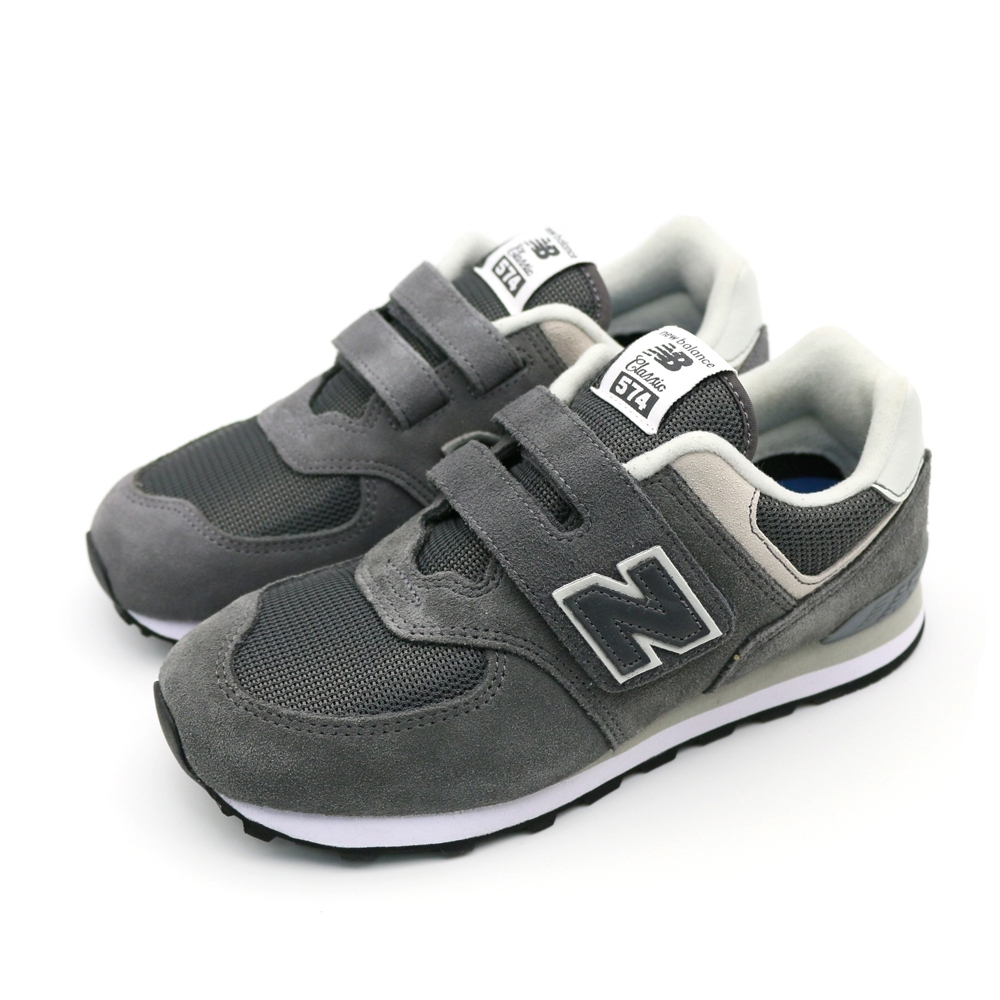 NEW BALANCE中大童休閒鞋-YV574EPH-W 灰