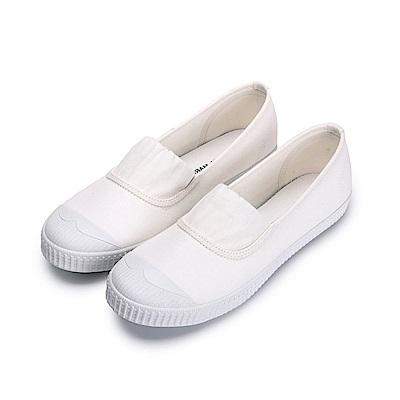 BuyGlasses 少女情懷鬆緊休閒鞋-米