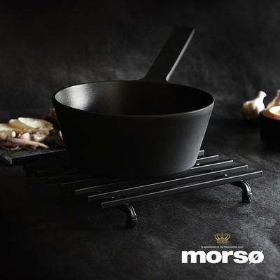 丹麥Morsø 皇家黑爵士鐵製隔熱架(25x25cm)