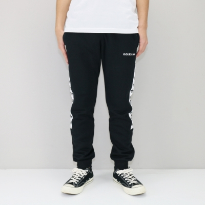 ADIDAS TAPE FL PANT 黑 男運動長褲-DX1299