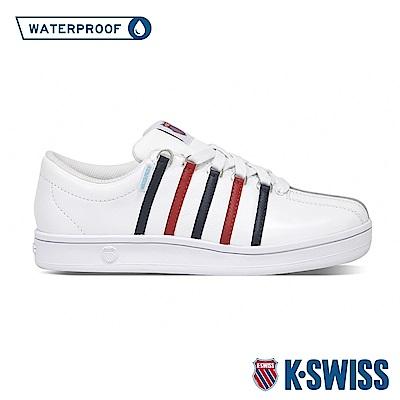 K-SWISS Classic 88 Heritage防水時尚運動鞋-女-白/藍/紅