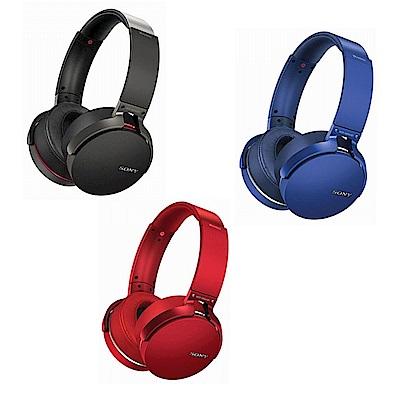 SONY重低音頭戴式藍牙耳機MDR-XB950B1送SONY隨身包 @ Y!購物