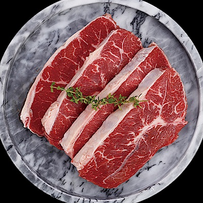 豪鮮牛肉 全天然草原牛嫩肩牛排15片(100g±10%片)