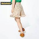 Balabala巴拉巴拉-花卉印花荷葉邊短褲-女(2色)