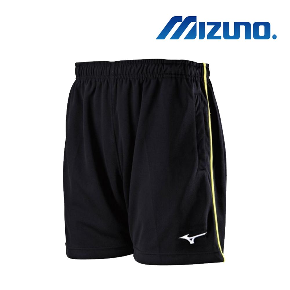 MIZUNO 美津濃 男針織羽球短褲 黑 72TB8A0209