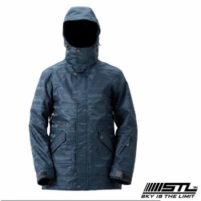 STL Snow 韓國戶外機能滑雪板/雪衣外套 男女款 土耳其藍