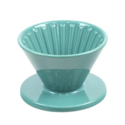CAFEDE KONA 波佐見燒 HASAMI 時光陶瓷濾杯01-綠