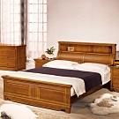 AS 艾達全實木雙人加大6尺床頭+床台尾片-180x229.2x120cm