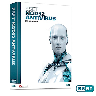ESET NOD32 防毒軟體(PC/MAC)3年10台盒裝版