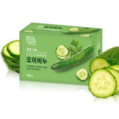 韓國 MKH無窮花-小黃瓜保濕美肌皂100g