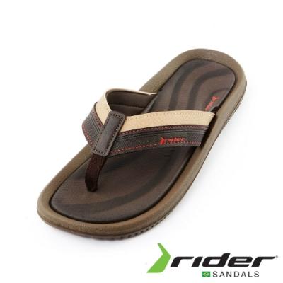 Rider bounce系列舒適人字拖鞋 男款 咖啡