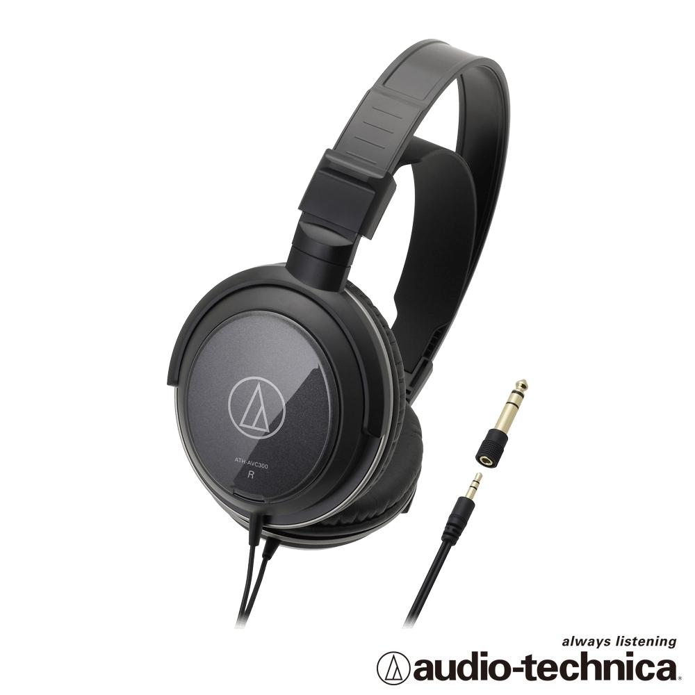 audio-technica 密閉式動圈型耳機 ATHAVC300
