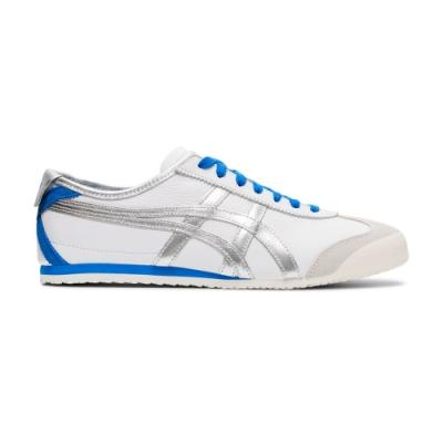 Onitsuka Tiger鬼塚虎-MEXICO 66 METALLIC PACK 休閒鞋 男女 (銀)1183A788-101