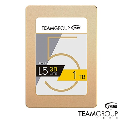TEAM十銓 L5 Lite 3D 1TB 2.5吋 SSD固態硬碟
