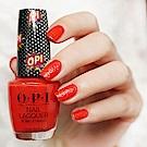 OPI 彩虹氣泡酒 紅色高跟鞋 指甲油 NLP49