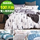 Ania Casa 100%天絲 雙人鋪棉兩用被套床包四件組 -多款任選