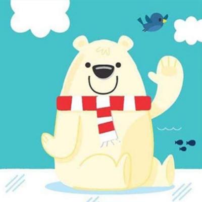 Aquacadabra:Polar Bear 變色洗澡書:北極熊篇