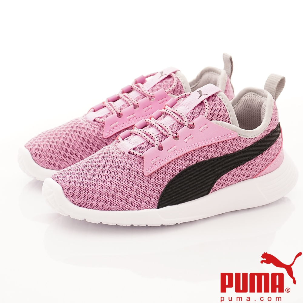 PUMA童鞋 透氣流線運動款 TH64028-13粉(中大童段)