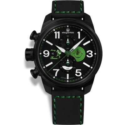 elegantsis 聖誕特別限定版計時手錶-45.5mm