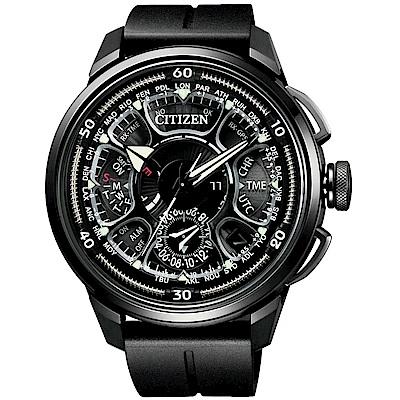 CITIZEN星辰 光動能鈦金屬 GPS定位對時衛星錶(CC7005-16F)